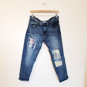 Current/Elliott dirty love hippy jeans